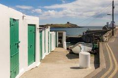 Nabrzeżna wioska Dalkey zdjęcie royalty free