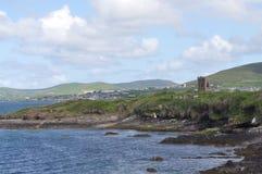 Nabrzeżna zatoka w Dingle, okręg administracyjny Kerry, Irlandia fotografia royalty free