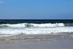 Nabrzeżne przy Hermosa plażą Kalifornia w Los Angeles okręgu administracyjnym, Kalifornia, Stany Zjednoczone obraz royalty free