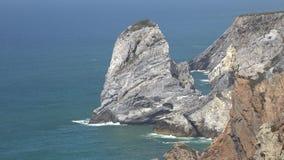 Nabrzeżnego oceanu Rockowa formacja zbiory wideo