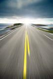 nabrzeżnej autostrady ruchu droga Obrazy Stock