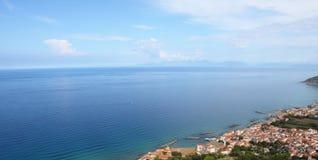 nabrzeżny equense krajobrazu mety Sorrento vico Zdjęcia Royalty Free