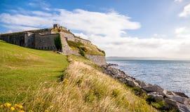 Nabrzeżny forteca zdjęcia royalty free