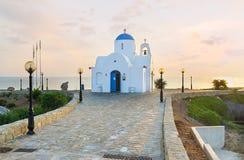 Nabrzeżny kościół Fotografia Royalty Free