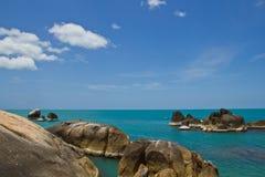 nabrzeżny koh kołysa samui Thailand Zdjęcie Stock