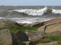 nabrzeżny krajobrazowy skalisty obraz stock