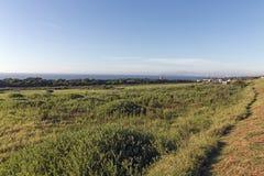 Nabrzeżny Krajobrazowy Nabrzeżny widok od Mhlanga grani Południowa Afryka Obrazy Stock