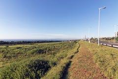 Nabrzeżny Krajobrazowy Nabrzeżny widok od Mhlanga grani Południowa Afryka Fotografia Royalty Free