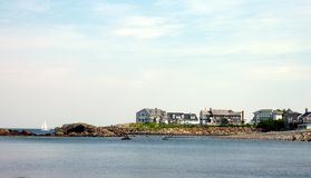 nabrzeżny Maine zdjęcie royalty free