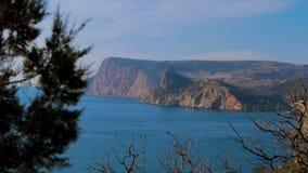 Nabrzeżny piękno krajobraz zbiory wideo
