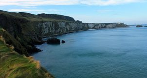 Nabrzeżny widok, okręg administracyjny Antrim, Północny - Ireland Obrazy Royalty Free