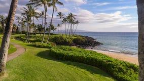 Nabrzeżna droga przemian w Maui obrazy royalty free