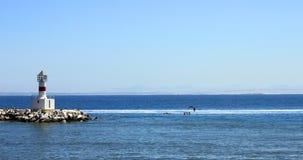 nabrzeżna latarnia morska Fotografia Royalty Free