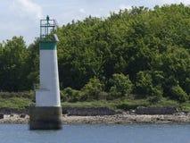 nabrzeżna latarnia morska Zdjęcie Royalty Free