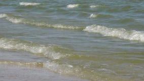 Nabrzeżne Azov morza fala zdjęcie wideo
