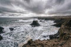 Nabrzeżny krajobraz w Iceland Obrazy Royalty Free