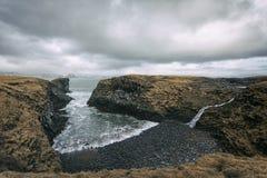 Nabrzeżny krajobraz w Iceland Obraz Stock