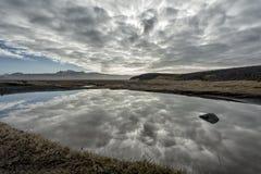 Nabrzeżny krajobraz w Iceland Zdjęcia Stock