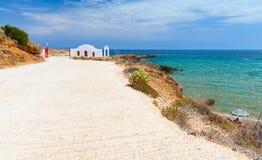 Nabrzeżny krajobraz wyspa Zakynthos, Grecja Zdjęcia Royalty Free