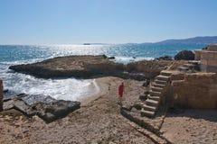 Nabrzeżny krajobrazowy outside Palma Fotografia Stock