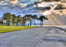 Nabrzeżny raj Obraz Royalty Free