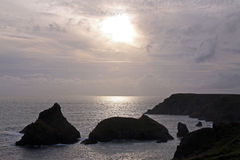 nabrzeżny wysp morza widok Zdjęcie Stock