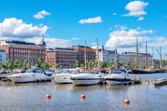 Nabrzeże Helsinki Finlandia Fotografia Royalty Free