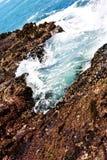 Nabrzmiałość przypływu baseny Obraz Stock