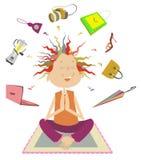 Nabywa medytację Zdjęcie Stock