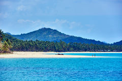 Nacapan beach Palawan Philippines Royalty Free Stock Photography