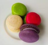 Nacaron. Sweet colorful food close up Royalty Free Stock Photos