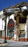 Nach dem Erdbeben stockfoto