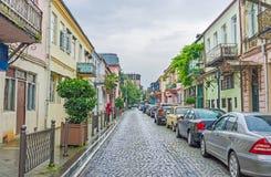 Nach dem Regen in Batumi Stockbilder