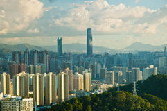 Shenzhen-Stadt Lizenzfreies Stockfoto