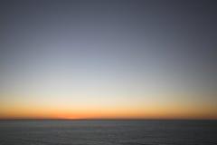 Nach dem Sonnenuntergang Lizenzfreie Stockfotografie