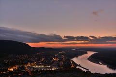 Nach dem Sonnenuntergang Stockbilder