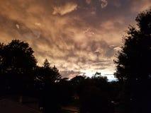 Nach dem Sturm Stockbild