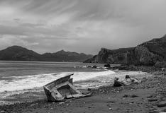 Nach dem Sturm in Krim Stockfotografie