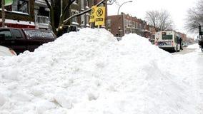 Nach dem Sturm in Montreal Lizenzfreies Stockbild