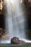 Nach dem Wasserfall von der Vorderseite der Höhle Lizenzfreies Stockfoto