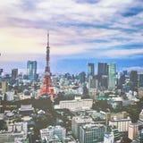 Nach dem Zufall Tokyo von, was ich sehe Stockfotografie