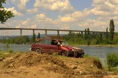 Nach der Überschwemmung von Varna Bulgarien am 19. Juni Stockbilder