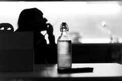 Nach der Arbeit Einsamkeit stockfotografie