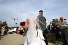 Nach der Hochzeit Stockbilder