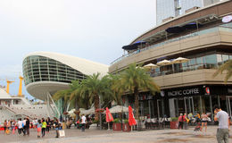 Nach der Verbesserung der Seewelt in Shenzhen Lizenzfreies Stockbild