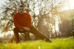 Nach einem Lack-Läufer heraus ausdehnen Lizenzfreies Stockfoto