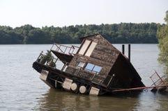 Nach Hause überschwemmt Stockbilder