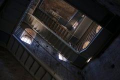 Nach innen von Torre Guinigi in Lucca, Toskana, stockfoto