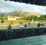 Nach Regen Stockbild
