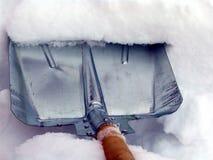 Nach Schneefällen Stockfotos